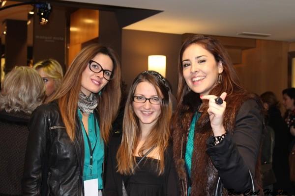 en Pronovias con Rosa y Anna
