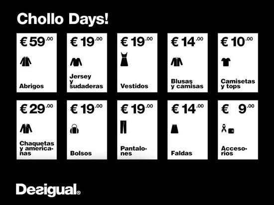 chollos days desigual barcelona diciembre 2011