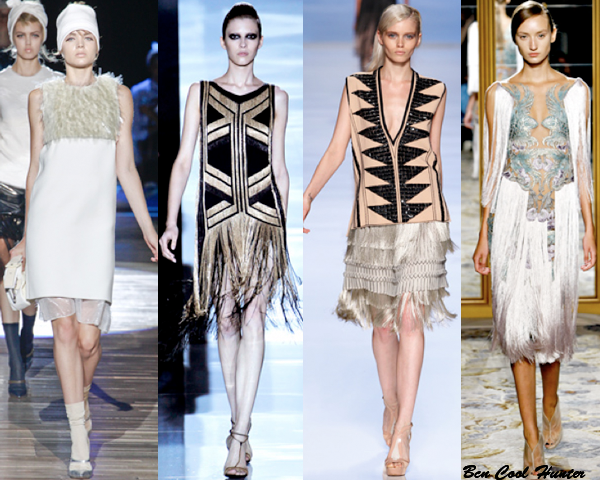Marc Jacobs - Gucci - Etro - Marchesa s/s 2012