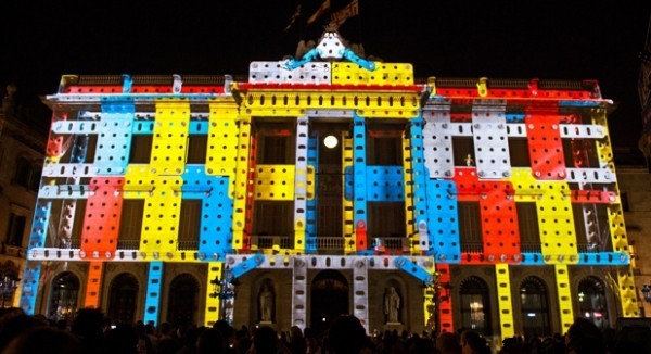 festival iluminacion barcelona