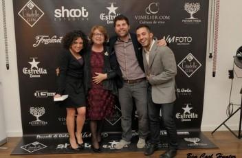 Cristina Herrador, Candi Aparicio, Miguel Yerga y Gus Ruiz