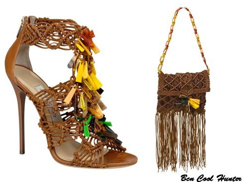 Sandalias Iris y bolso Xara de Jimmy Choo p/v 2012