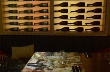 pared botellas restaurantes antinglao