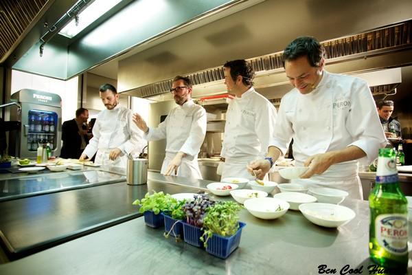 cocineros peroni aperitivo barcelona