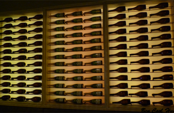 pared-botellas