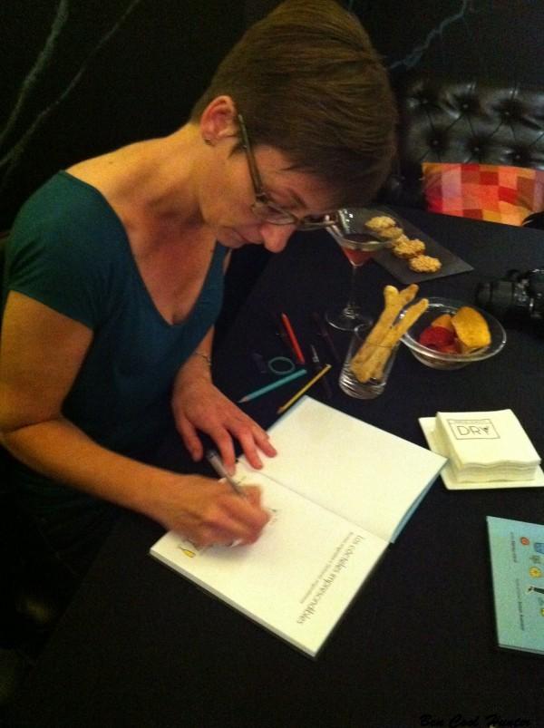 Susan Aumann, la ilustradora del libro