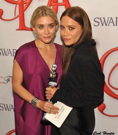 hermana olsen CFDA Fashion Awards 2012