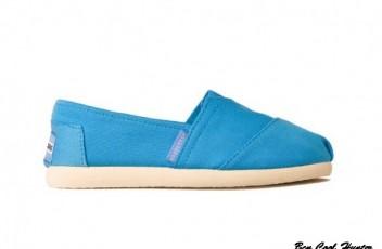 Alpargata brasileras azules