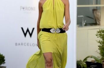 vestido amarillo sayan