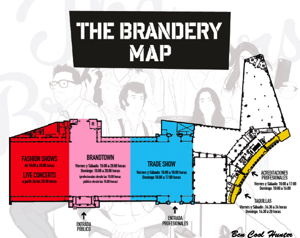 the brandery map