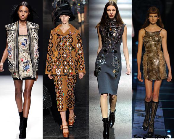 Lanvin- Louis Vuitton - Balmain -Versace f/w 2012-13