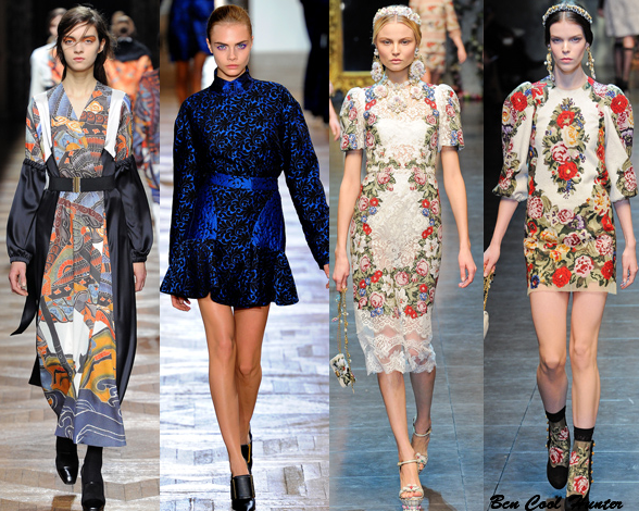 Dries Van Noten - Stella McCartney - Dolce & Gabbana f/w 2012-13