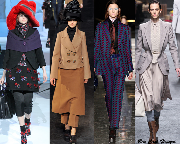Marc Jacobs - Louis Vuitton - MiuMiu - Trussardi f/w 2012-13