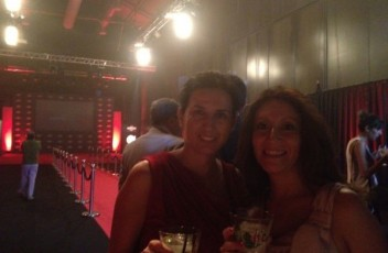 Pao y yo en la Gala Martini