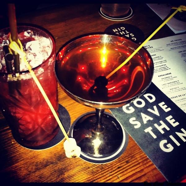 Cocktails en Bobby Gin