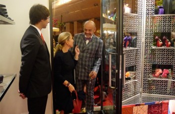 christian-louboutin-store opening-rome