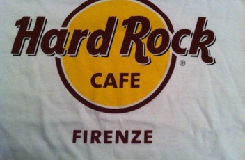 hard rock firenze tshirt