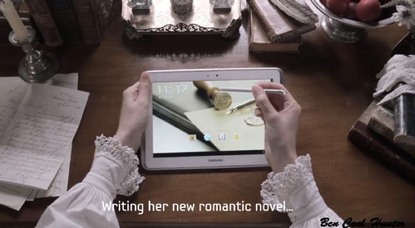 samsung escribir novela