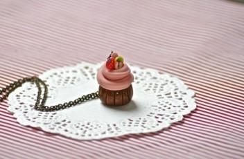 colgante cup cake