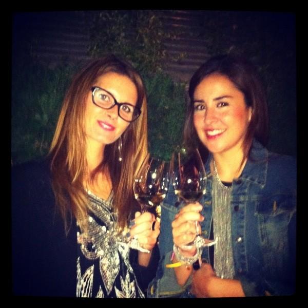 con Anna de AddictSmile en Santa Eulalia