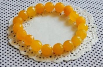 pulsera amarilla