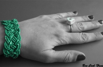pulsera verde one of kind