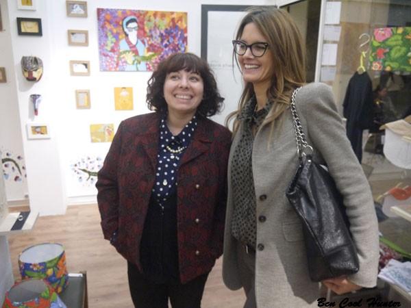 con Mariadela Araujo fundadora de Paella Showroom