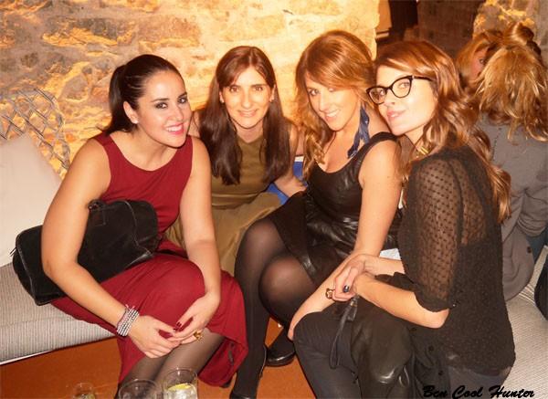 En la fiesta de El Palauet con Anna de AddictSmile, Laura y Mireia de TheSingleList