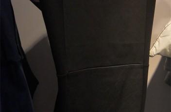 hm margiela black dress