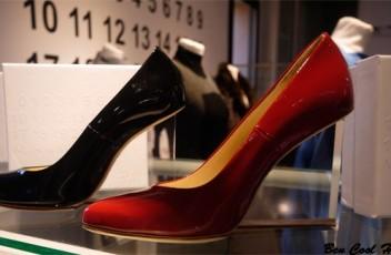 margiela hm plexigas shoes