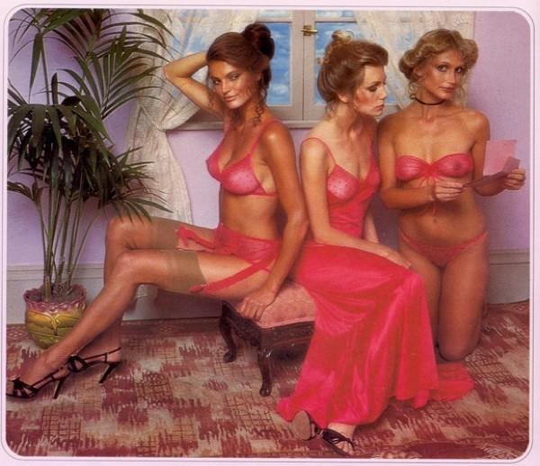 Una imagen del primer catalogo de Victoria's Secret del 1978