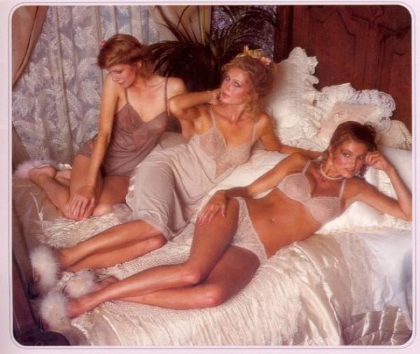 Victoria's Secret, una imagen del catalogo del 1979