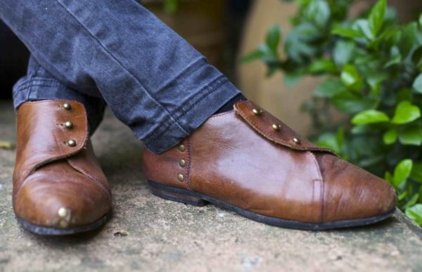 caboclo zapato marron