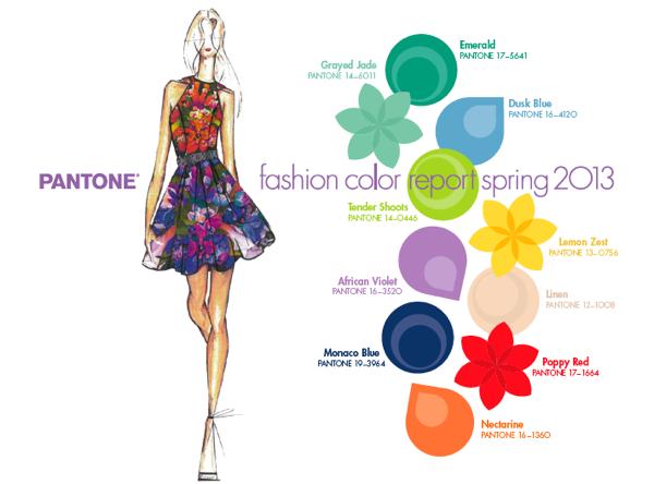 colores moda primavera verano 2013