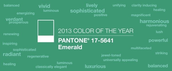 esmeralda color 2013 pantone