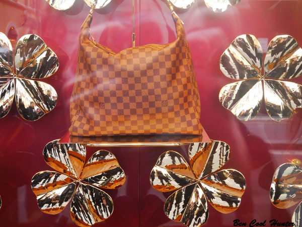 Louis Vuitton, detalle escaparate navideño 2012