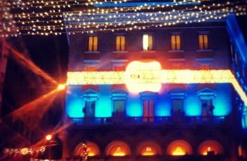 palazzo fendi roma luci natale