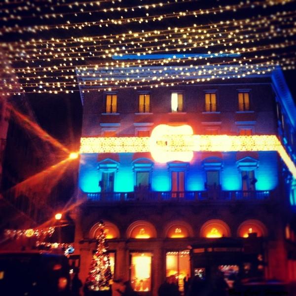 Palazzo Fendi, via del Corso - Roma  - Iluminación navideña 2012
