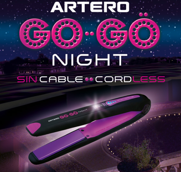 plancha gogo night artero sin cable