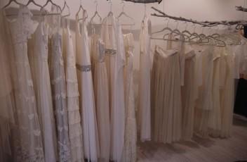 vestido novia atelier otaduy escaparate