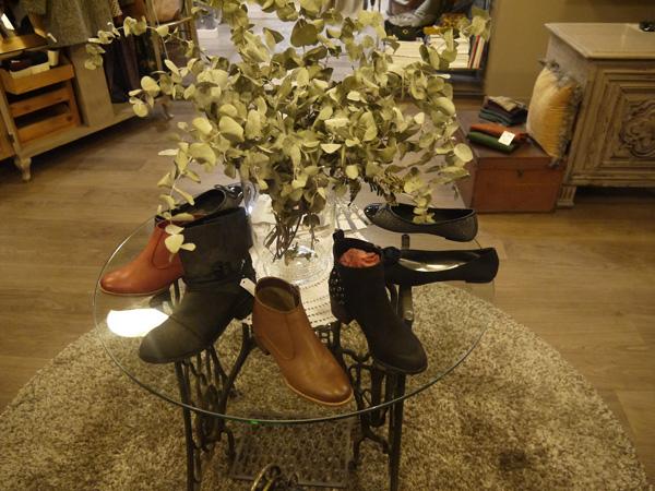 mesa zapatos