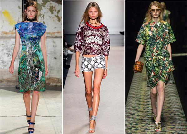 moda 2013 primavera verano hawaii