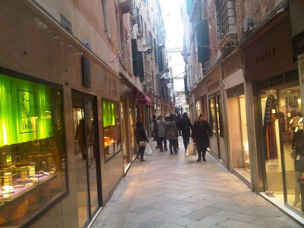venezia ruta shopping