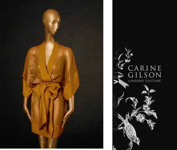 minimal kimono de Carine Gilson