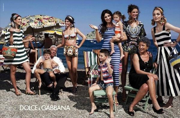 rayas publicidad dolce&gabbana