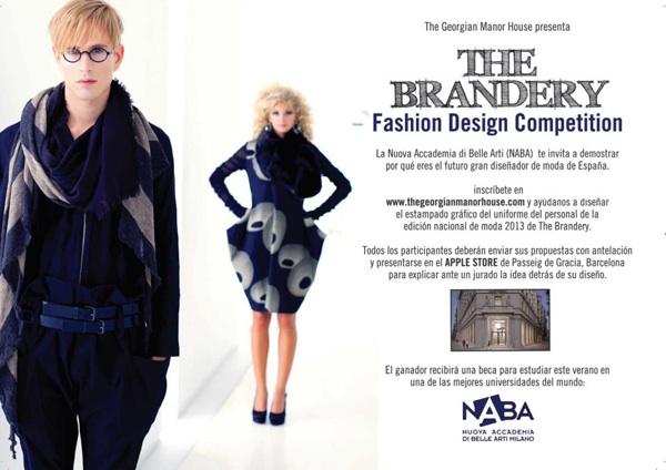 Cartel concurso uniforme the Brandery