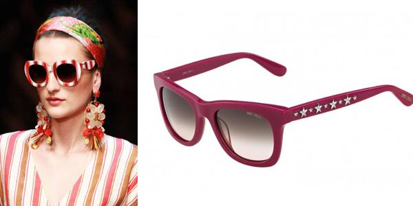 Dolce & Gabbana y Jimmy Choo gafas de sol p/v 2013
