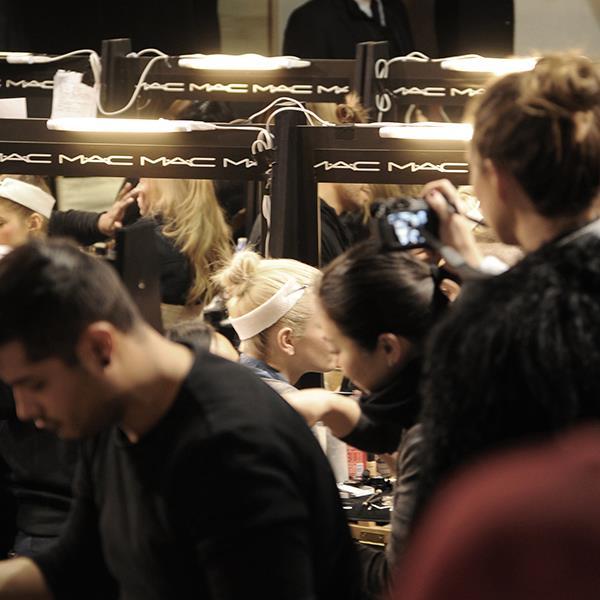 Mac maquillaje milan fashion week
