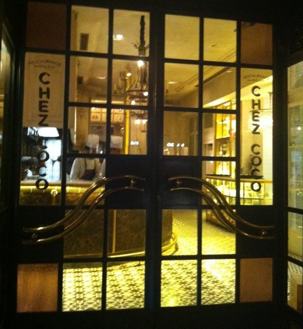 chez coco entrada restaurante