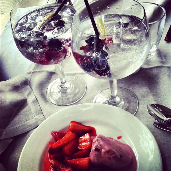 gin tonic postre hotel arts